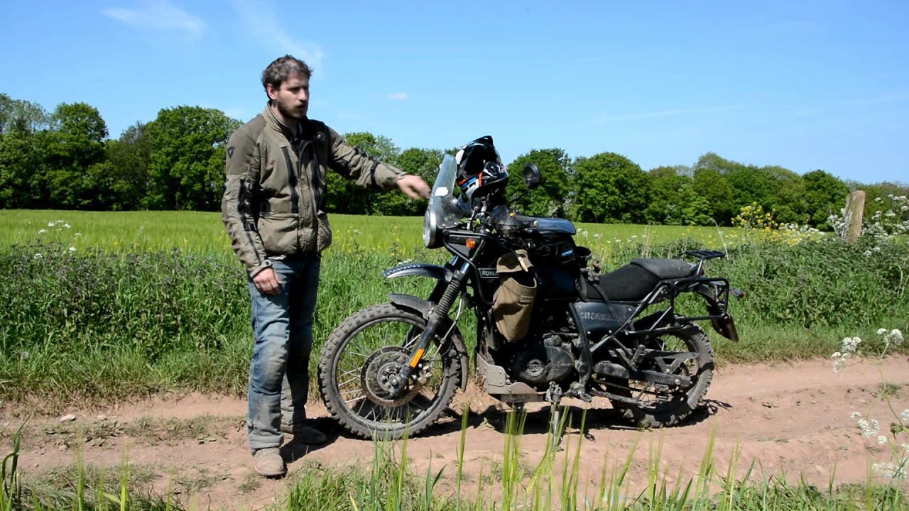 Royal Enfield Himalayan 16000 Miles In Getting Into Adventure